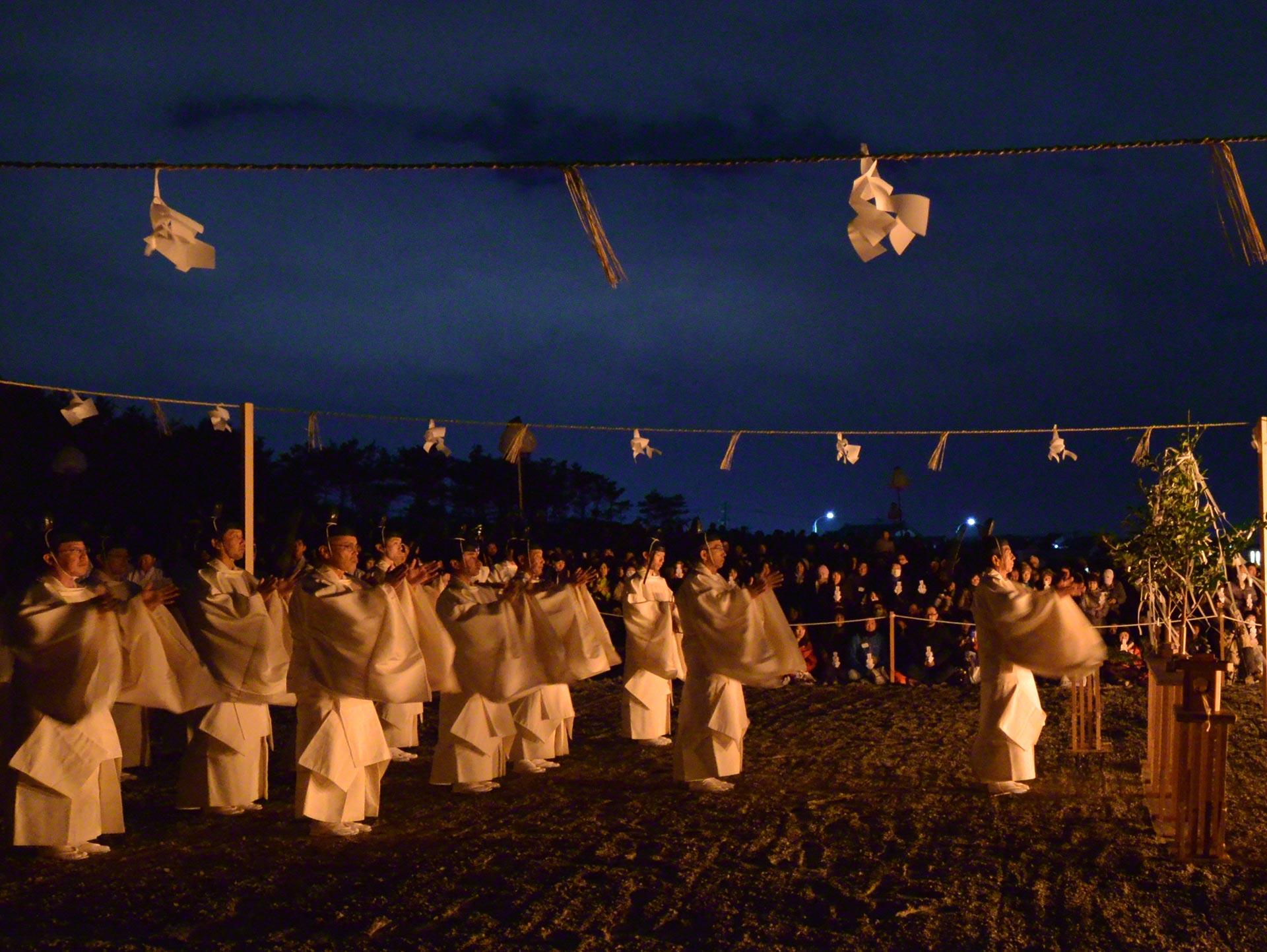 出雲大社-神迎神事・神迎祭
