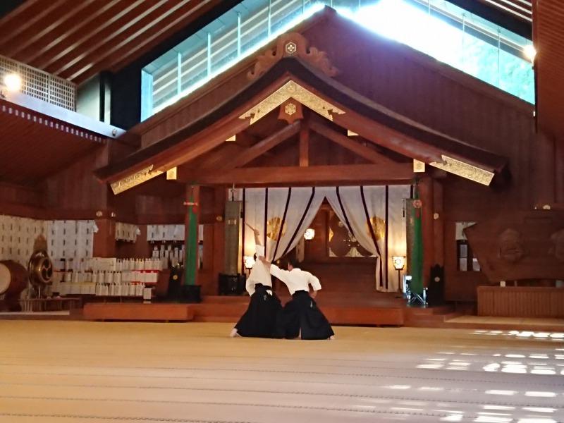 古武道奉納演武のアイキャッチ画像