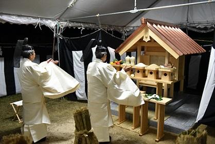 大歳社 遷座祭のアイキャッチ画像