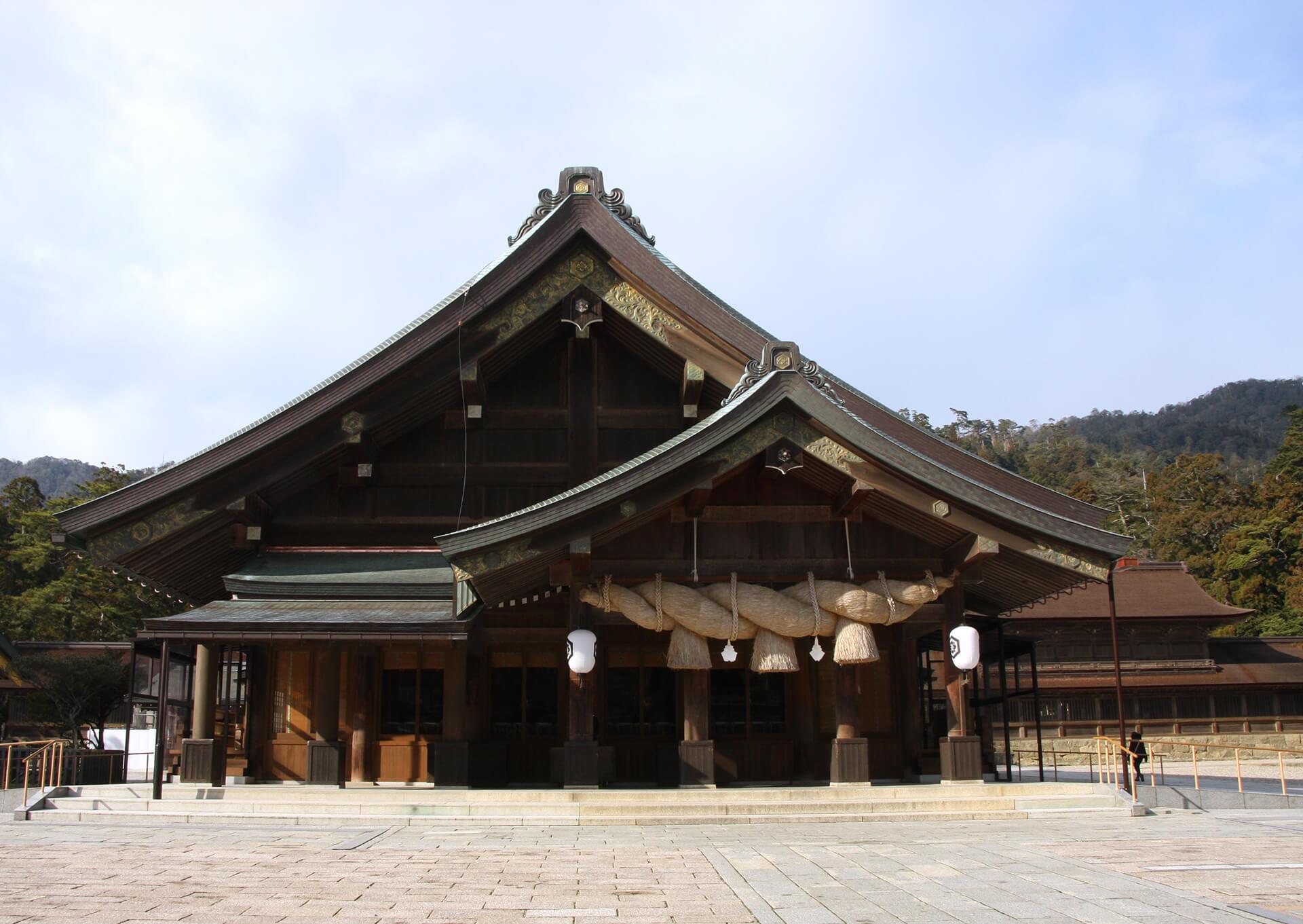 出雲大社-拝殿