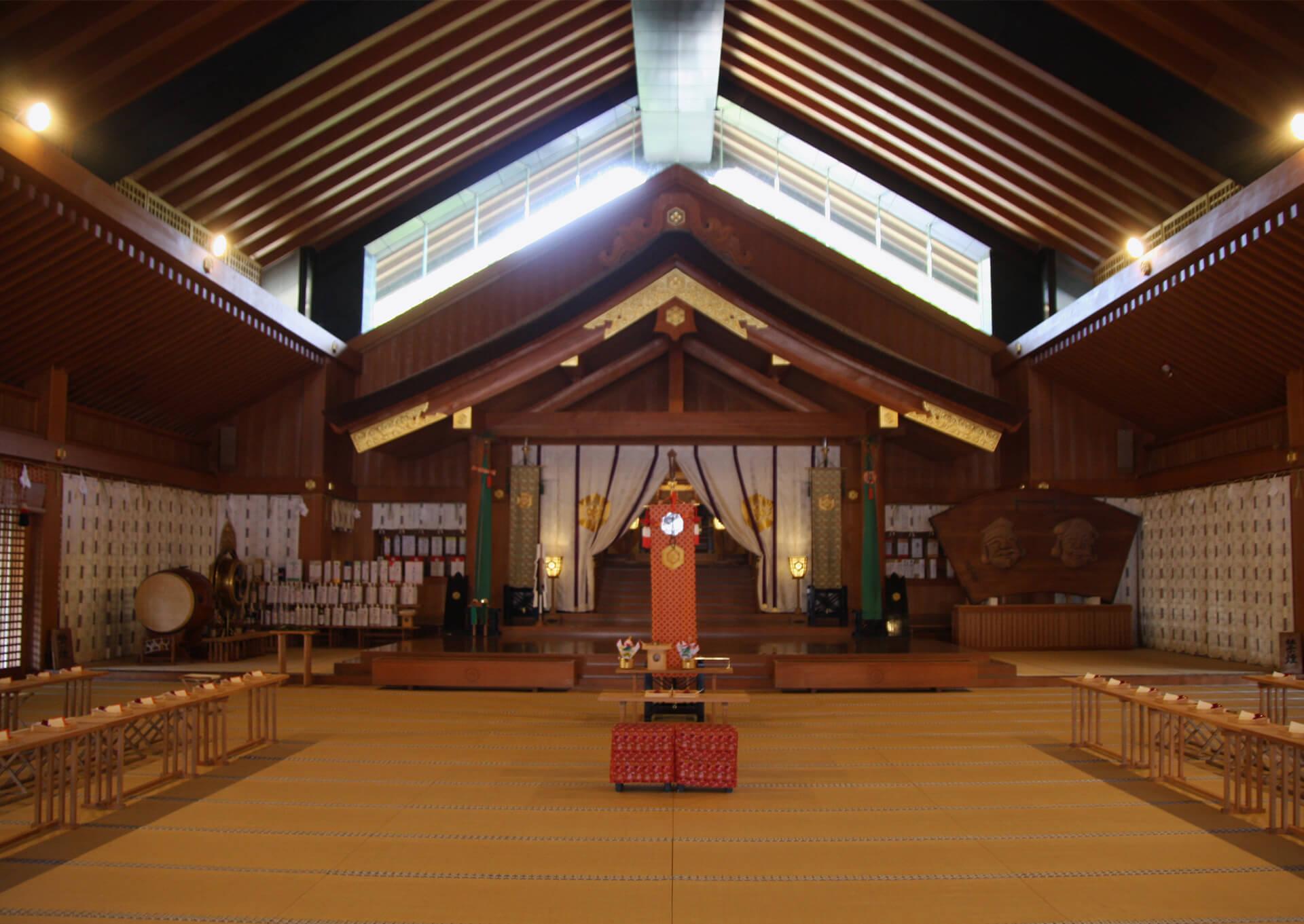 出雲大社-神楽殿