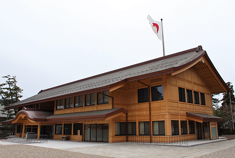 出雲大社-この度、新たに改築された新庁舎