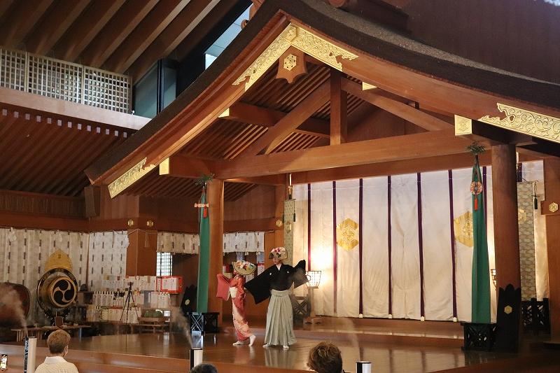舞踊奉納のアイキャッチ画像