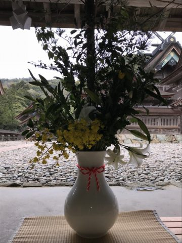 紀宮花山院流献花