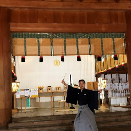 日本舞踊奉納