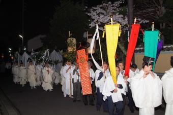 命主社 仮殿遷座祭